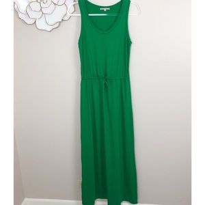 Gap maxi dress with drawstring waist